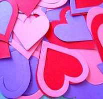 Сердечная гирлянда для влюблённых