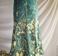 Рисунки белизной: роспись юбки своими руками. Мастер-класс