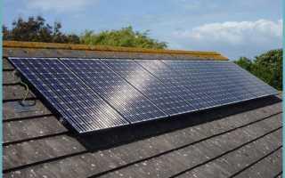Маленькая солнечная панель своими руками