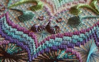 Флорентийское шитье или барджелло (bargello). Как вышивать? Схемы