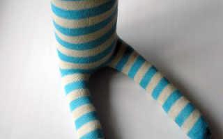 Зайчики из носков (мастер-класс)
