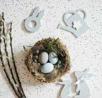 Вяжем гнездышко для яичек своими руками