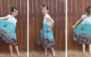 Как сшить детское платье своими руками из наволочки. Мастер-классы