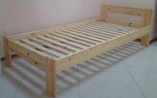 Удобная кровать своими руками