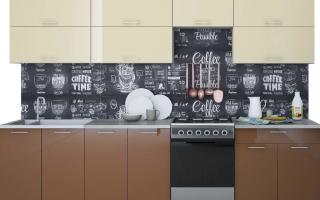 Кофейные декоративные элементы для кухни