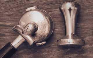 Темпер, аксессуар для приготовления кофе, своими руками