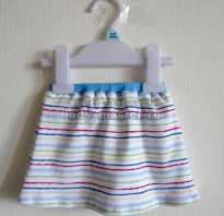 Шьём летнюю юбку для девочки-3