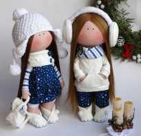 Шьём тряпичную куклу для малышей
