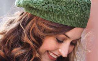 Как связать шапку с косами и градиентом. Мастер-класс