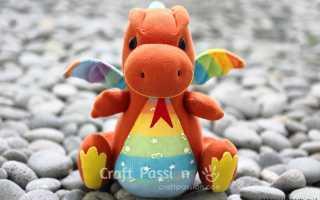 Носки-Драконы и игрушки из носков