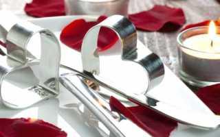 Сервировка стола на день Святого Валентина — 5 красивых идей