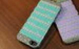 Вязаный чехол для телефона — 5 милых идей