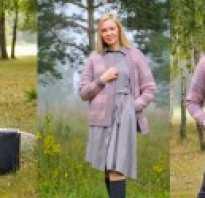 Модели пальто для вязания крючком и спицами