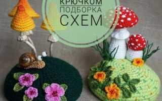Игольница крючком: цветы и кактусы. Видео мастер-классы