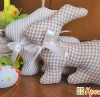 Шьём пасхальных кроликов-4