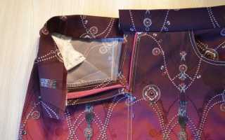 Обработка пояса в юбках и брюках
