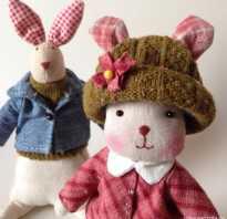 Шьём пасхальных кроликов-3