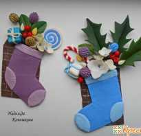 Новогодние подарки своими руками: серьги — ёлочки из полимерной глины
