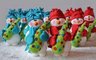 Как сшить снеговика своими руками. Выкройка и мастер-класс