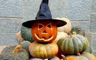 Тыква своими руками на Хэллоуин