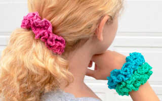 Резинка для волос — 5 простых идей