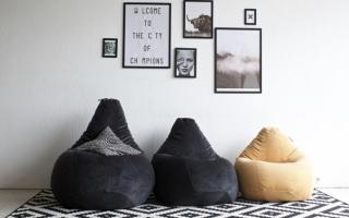 Напольная подушка своими руками — 5 простых идей