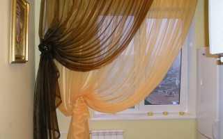 Колье из завязок для штор